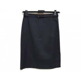 【中古】 ハロッズ HARRODS スカート サイズ1 S レディース 黒