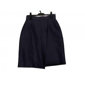 【中古】 マーティングラント MARTIN GRANT スカート サイズ38 M レディース ダークネイビー