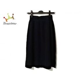 セリーヌ CELINE スカート サイズ44 L レディース 美品 ダークネイビー   スペシャル特価 20190605