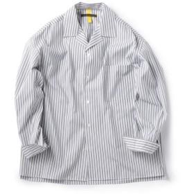 [マルイ]【セール】BENCH MARKING SHIRTS: オープンカラー ストライプ シャツ/シップス(メンズ)(SHIPS)