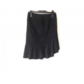 【中古】 ピンキー&ダイアン Pinky & Dianne スカート サイズ36 S レディース 黒 リボン