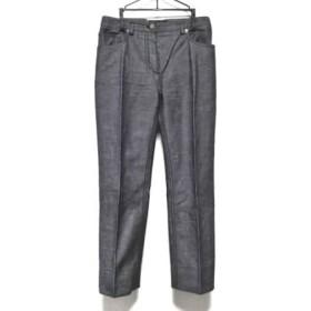 【中古】 ルイヴィトン LOUIS VUITTON パンツ サイズ38 M レディース グレー