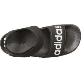 adidas(アディダス) ADILETTE SANDAL K G26879 コアBLK/RUNWHT 23.0cm