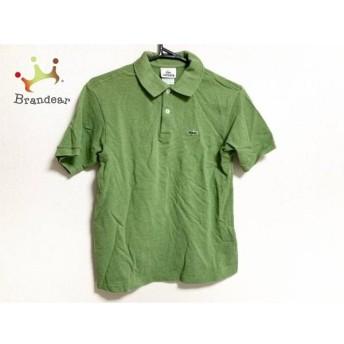 ラコステ Lacoste 半袖ポロシャツ レディース 美品 グリーン スペシャル特価 20190624