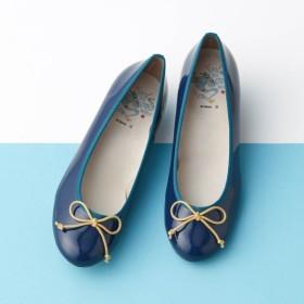 バレエシューズ 靴 レディース ディズニー アラジン 40代 30代 フラットシューズ 日本製 雨の日 ジーニー 22 22.5 23 23.5 24 24.5 25