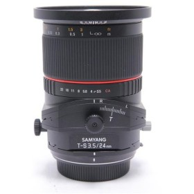 《美品》SAMYANG T-S 24mm F3.5 ED AS UMC Lens (キヤノン用)