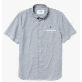 『WEB限定』玉縁配色ボタンダウンシャツ