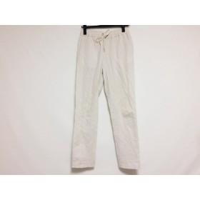【中古】 ドロシーズ DRWCYS パンツ サイズ1 S レディース 白 ブラウン ストライプ