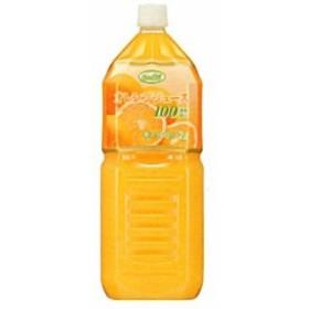 UCC業務用 グリーンフィールド 濃縮還元 オレンジジュース 100% PET 2L×6個 (コード:520539000)