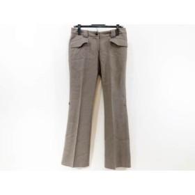 【中古】 オールドイングランド OLD ENGLAND パンツ サイズ36 S レディース ダークブラウン
