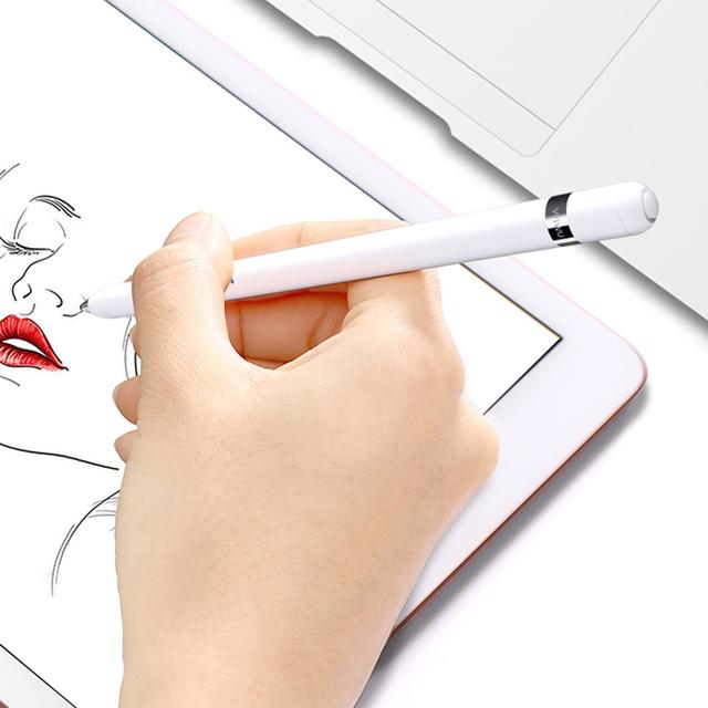 WiWU | 畢卡索主動式電容筆,PP301,新一代,白色,蘋果iOS與安卓系統兼容, 觸控筆,手機筆,手寫筆,金屬圓珠筆,觸控筆,觸屏筆