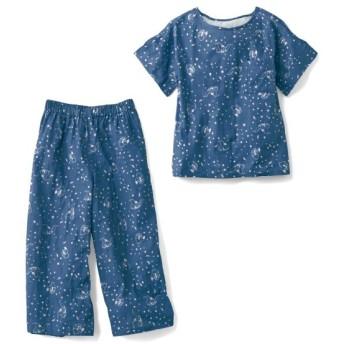 半袖パジャマ 綿100% ダンボ レディース