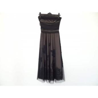 【中古】 ビーシービージーマックスアズリア BCBGMAXAZRIA ドレス サイズ2 S レディース 美品 黒 レース
