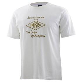 アンブロ(UMBRO) クラシックロゴTシャツ ULUNJA54 WHT (Men's)