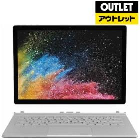 13.5型WindowsタブレットPC [Win10 Pro・Core i5・SSD 256GB・メモリ 8GB・Office付] ノートパソコン Surface Book 2 (サーフェスブック2) HMW-00035 シルバー