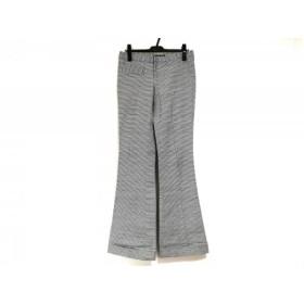【中古】 ヴィヴィアンタム VIVIENNE TAM パンツ サイズ1 S レディース 白 ダークネイビー ボーダー