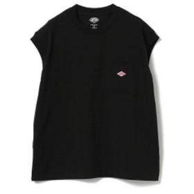 DANTON / ノースリーブ Tシャツ レディース Tシャツ BLACK 36