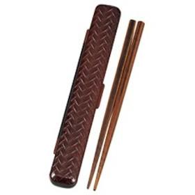 あじろ箸箱セット18cm 春慶 和風箸箱