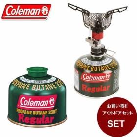 コールマン シングルバーナーセット ファイアーストーム + 純正LPガス燃料[Tタイプ]230g 2000028328 + 5103A230TJAN Coleman