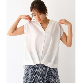 aquagirl / アクアガール 裾タック・シアーシャツ