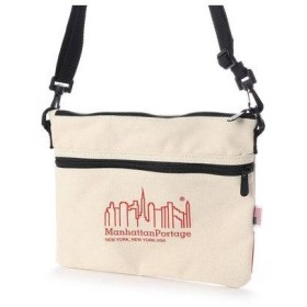 マンハッタンポーテージ Manhattan Portage Canvas Lite Collection Harlem Bag (Natural)