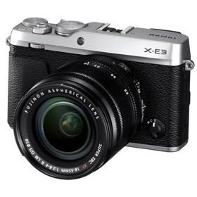 富士フイルム FX-E3LKS ミラーレス一眼カメラ「FUJIFILM X-E3」ズームレンズキット(シルバー)[FXE3LKS]【返品種別A】