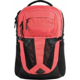 ノースフェイス レディース バックパック・リュックサック バッグ Recon Backpack TNF Black/Spiced Coral