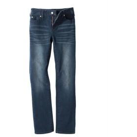 すごのびストレッチ股ずれしにくいストレートデニムパンツ(ゆったり太もも)(股下68cm) (大きいサイズレディース)パンツ,plus size