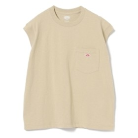 DANTON / ノースリーブ Tシャツ レディース Tシャツ BEIGE 36