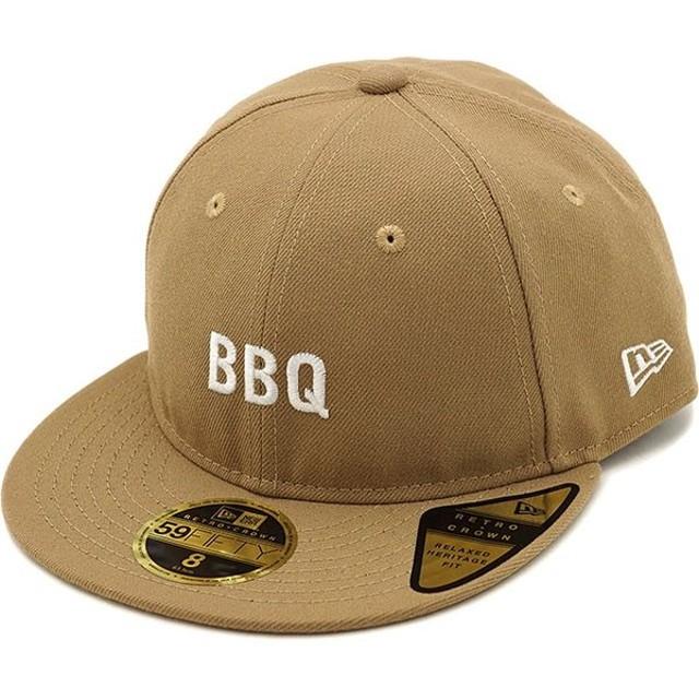 ニューエラ アウトドア NEWERA OUTDOOR 59FIFTY RETRO CROWN BBQ バーベキュー キャップ メンズ レディース 帽子カーキ系  11897274 SS19