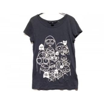 【中古】 マークバイマークジェイコブス 半袖Tシャツ サイズXS レディース ダークグレー