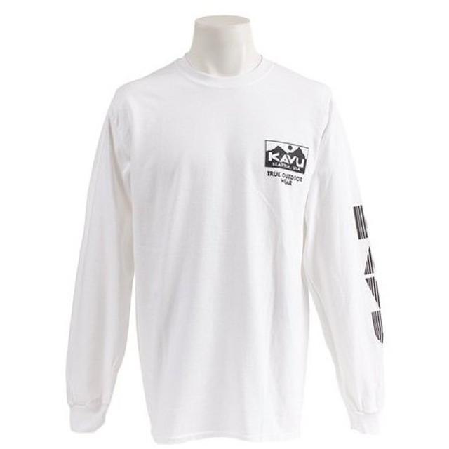 カブー(KAVU) 長袖Tシャツ White 19820930010 (Men's)