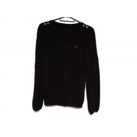 【中古】 バーバリーブルーレーベル Burberry Blue Label 長袖セーター サイズ38 M レディース 黒