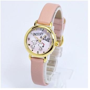 フィールドワーク 腕時計 ウォッチ/スヌーピー 小丸キュートウォッチ ピンク PNT002-3(取寄せ/代引不可)