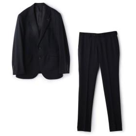 【30%OFF】 メンズビギ シルクマイクロダイヤ柄スーツ メンズ ダークネイビー S 【Men's Bigi】 【セール開催中】