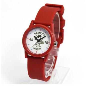 フィールドワーク 腕時計 ウォッチ/スヌーピー ラバーポップウォッチ レッド PNT004-4(取寄せ/代引不可)