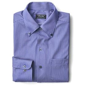 メンズビギ フィールドセンサー ジャージービジネスシャツ メンズ ブルー S 【Men's Bigi】