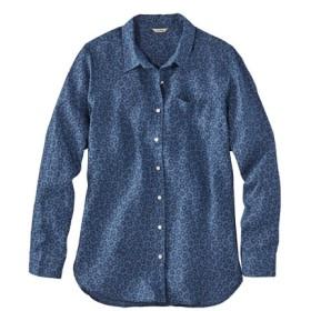 プレミアム・ウォッシャブル・リネン・シャツ、チュニック プリント/Premium Washable Linen Shirt Tunic Print