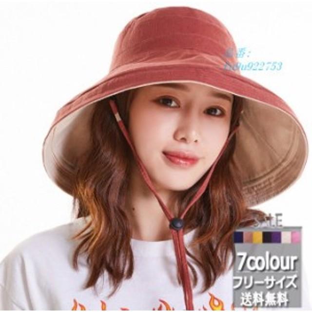 サファリハット つば広 帽子 UVカットハット オシャレ サンバイザー 新作 紫外線対策 日焼け止め 無地 春夏 レディース ファッション