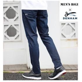 メンズビギ 【DENHAMデンハム別注 濃インディゴデニム メンズ インディゴブルー M 【Men's Bigi】