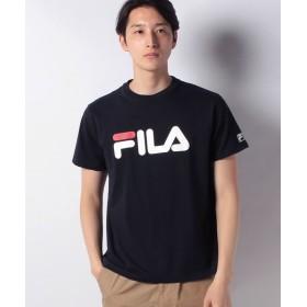 【39%OFF】 マルカワ フィラ ロゴ 半袖Tシャツ メンズ ネイビー L 【MARUKAWA】 【タイムセール開催中】