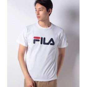 マルカワ フィラ ロゴ 半袖Tシャツ メンズ ホワイト L 【MARUKAWA】