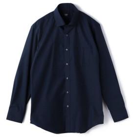 【30%OFF】 メンズビギ ピンヘッドレギュラーカラーシャツ メンズ ネイビー M 【Men's Bigi】 【セール開催中】