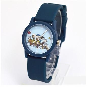 フィールドワーク 腕時計 ウォッチ/スヌーピー ラバーポップウォッチ ネイビー PNT004-5(取寄せ/代引不可)