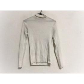 【中古】 ジユウク 自由区/jiyuku 長袖セーター サイズ38 M レディース ライトグレー タートルネック