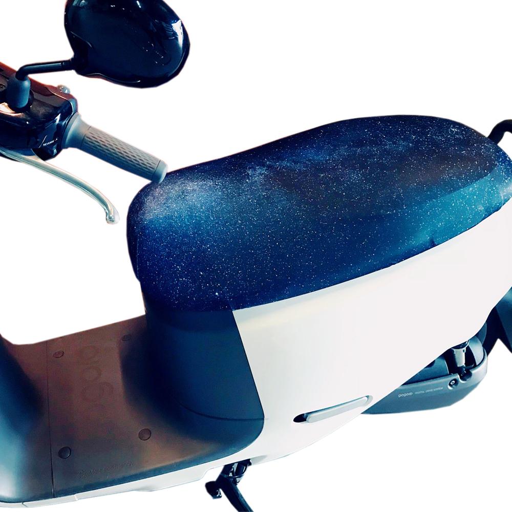 Cover-U星空防燙撥水效果機車座墊套