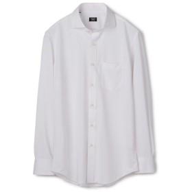メンズビギ 《吸水速乾/EASY CARE》ホリゾンタルシャツ メンズ ホワイト LL 【Men's Bigi】