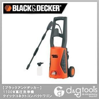 ブラック&デッカー 1100W高圧洗浄機クイックコネクトコンパクトワゴン PW1570-TD