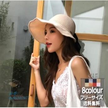 サファリハット つば広 帽子 レディース 無地 春夏 UVカットハット 紫外線対策 オシャレ サンバイザー 新作 日焼け止め ファッション