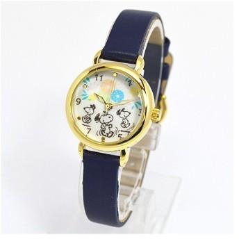フィールドワーク 腕時計 ウォッチ/スヌーピー 小丸キュートウォッチ ネイビー PNT002-2(取寄せ/代引不可)